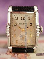 Excellent 1952 Vintage Bulova President 10K Gold P