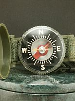 1940s Military Wrist Compass NOS